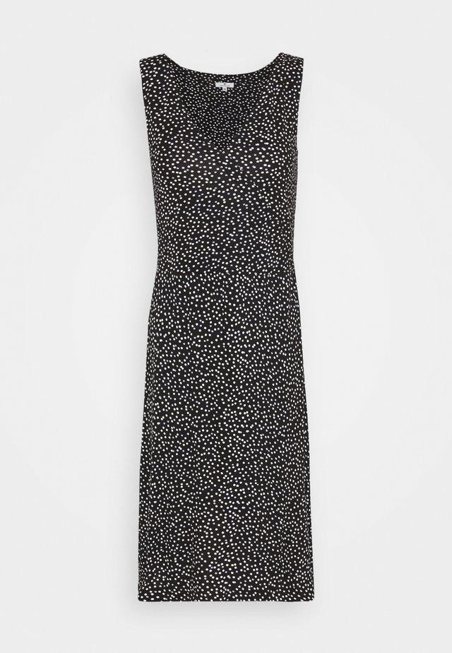 Sukienka letnia - black/offwhite