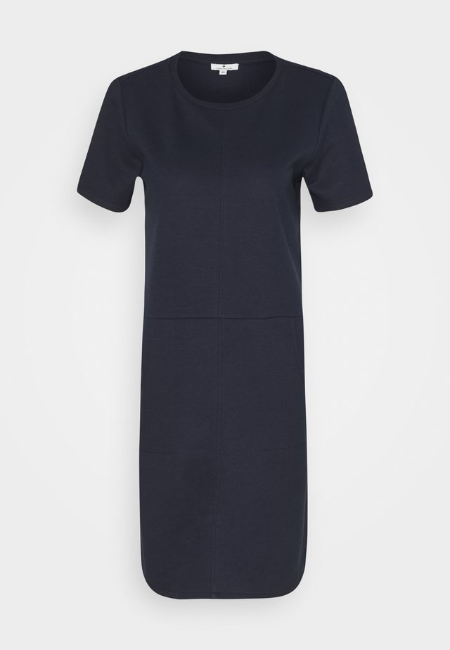 DRESS WITH POCKET - Sukienka letnia - sky captain blue