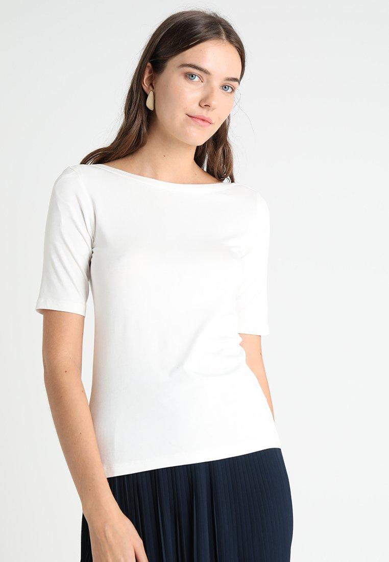 TOM TAILOR - NICE SOLID  - T-shirts basic - whisper white