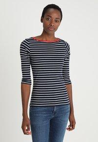 TOM TAILOR - STRIPE - T-shirt à manches longues - navy - 0