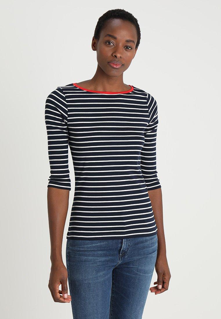 TOM TAILOR - STRIPE - T-shirt à manches longues - navy