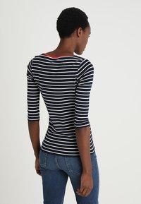 TOM TAILOR - STRIPE - T-shirt à manches longues - navy - 2