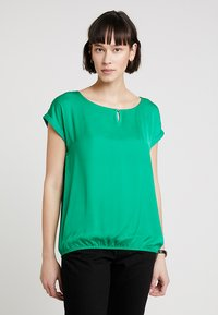 TOM TAILOR - FABRIC MIX - Blouse - light simply green - 0