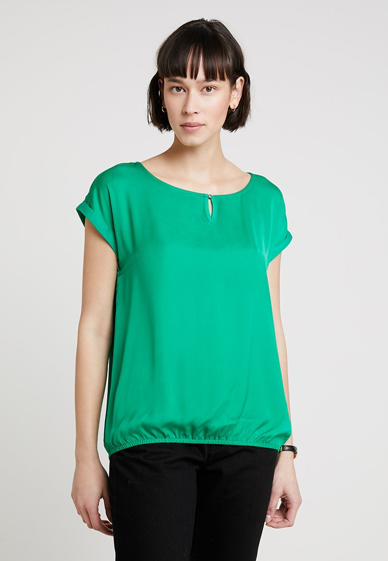 TOM TAILOR - FABRIC MIX - Blouse - light simply green
