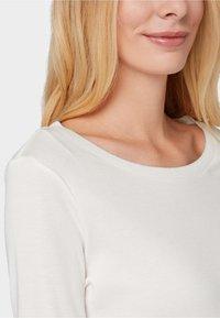 TOM TAILOR - GLITZER-DETAILS - Long sleeved top - whisper white - 3