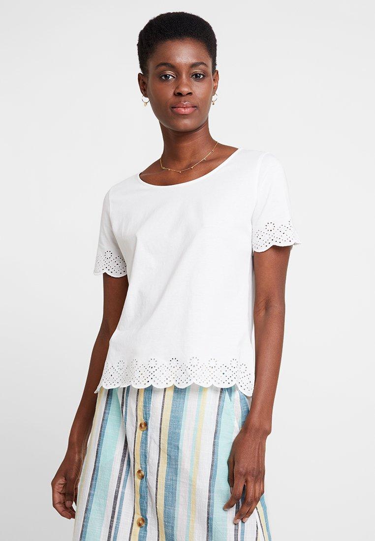 TOM TAILOR - Camiseta estampada - whisper white