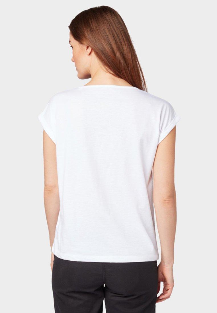 TAILOR imprimé T white TOM shirt edxoWrCQB