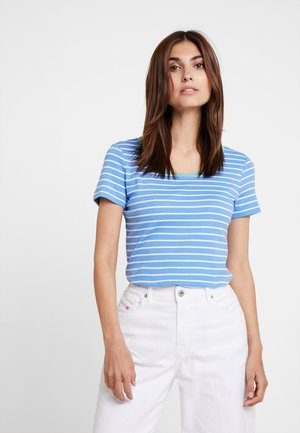 STRIPED - T-shirt imprimé - blue