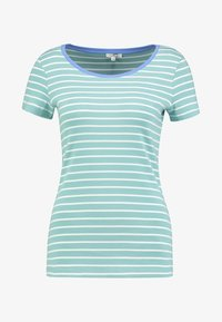TOM TAILOR - STRIPED - T-shirts med print - green - 3