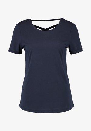 T-shirts print - sky captain blue