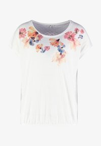 TOM TAILOR - FRONTPRINT - T-Shirt print - whisper white - 3