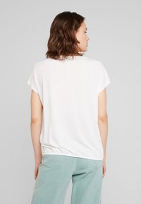 TOM TAILOR - FRONTPRINT - T-Shirt print - whisper white - 2