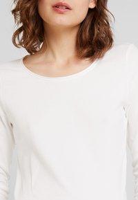 TOM TAILOR - Long sleeved top - whisper white - 4