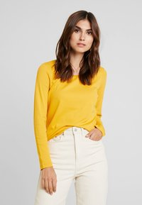 TOM TAILOR - Long sleeved top - merigold yellow - 0