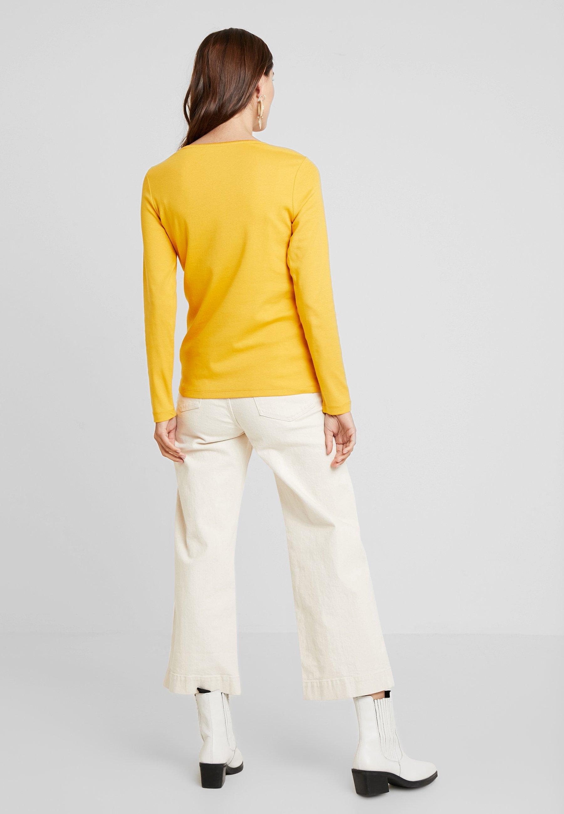 À Merigold Yellow DetailT Longues Tailor Tom shirt Manches LGqMSUzVp