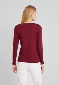 TOM TAILOR - Long sleeved top - tile red - 2