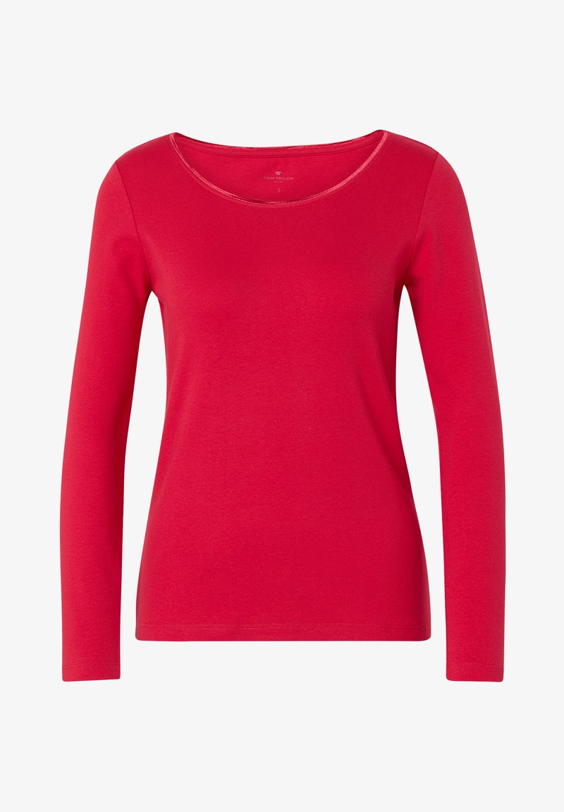 TOM TAILOR - Long sleeved top - dawn pink
