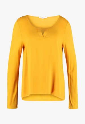 CREW NECK - Blus - merigold yellow