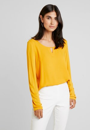 CREW NECK - Blouse - merigold yellow