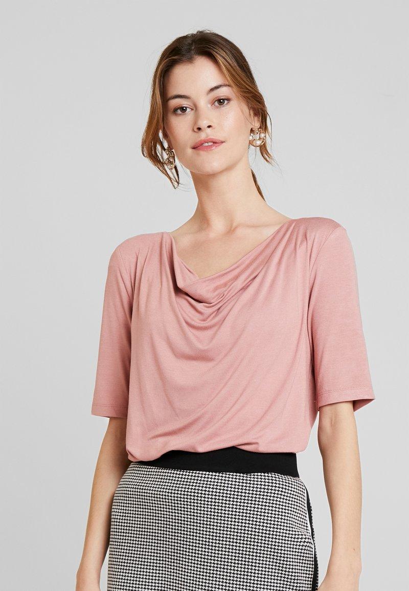 TOM TAILOR - T-shirt con stampa - vintage rose