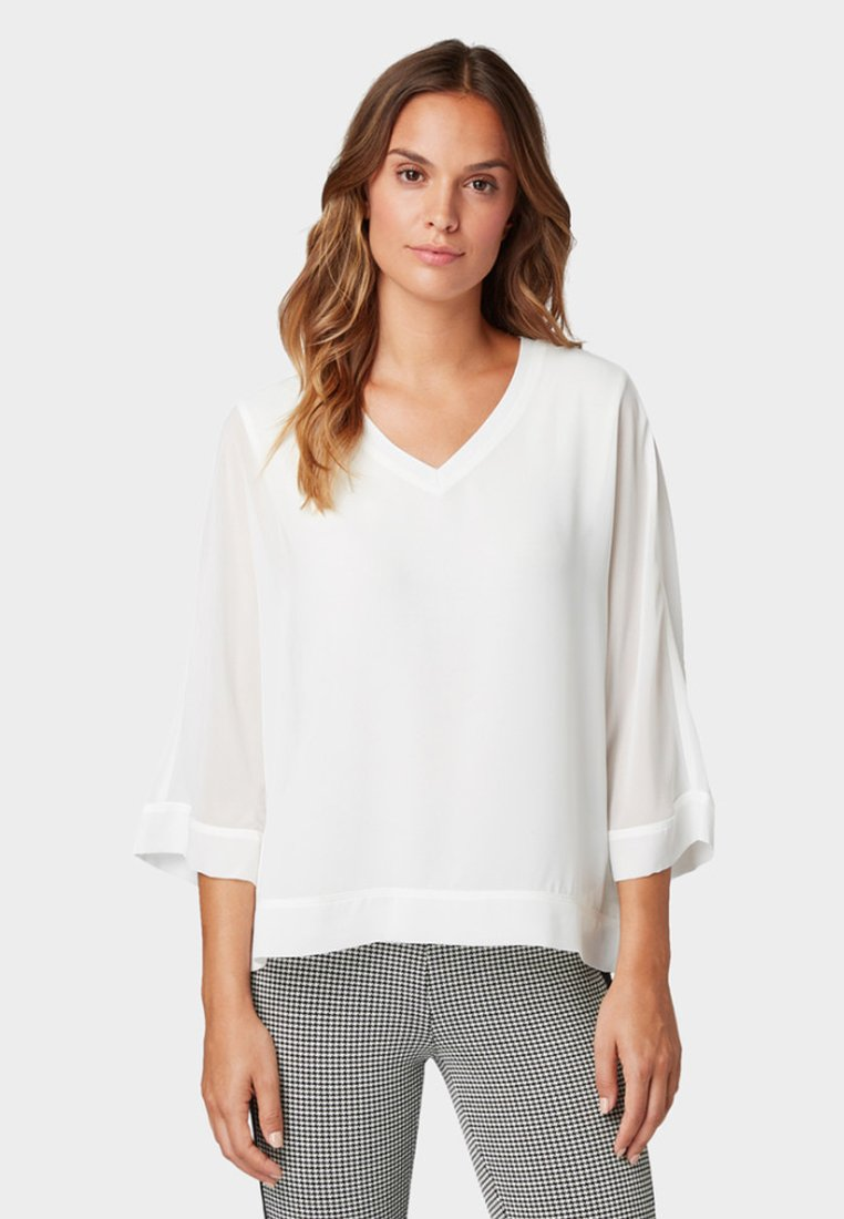 TOM TAILOR - Bluse - off-white