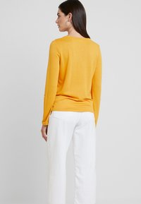 TOM TAILOR - PLACKET - Trui - merigold yellow - 2