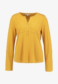 TOM TAILOR - PLACKET - Trui - merigold yellow - 3