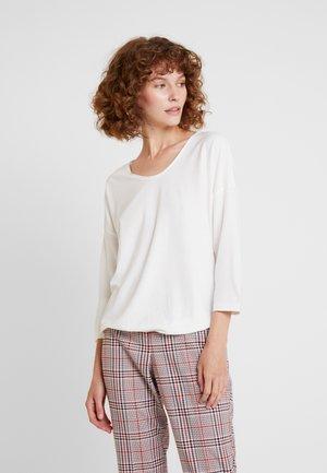 Maglietta a manica lunga - whisper white