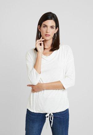 LOOSE - Long sleeved top - whisper white