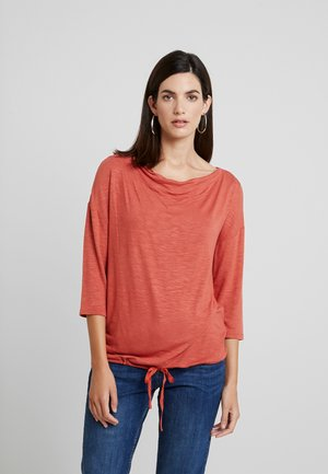 LOOSE - Långärmad tröja - dry red