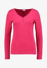 TOM TAILOR - HENLEY - Maglietta a manica lunga - dawn pink - 3