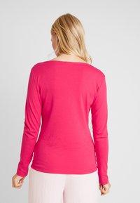 TOM TAILOR - HENLEY - Maglietta a manica lunga - dawn pink - 2