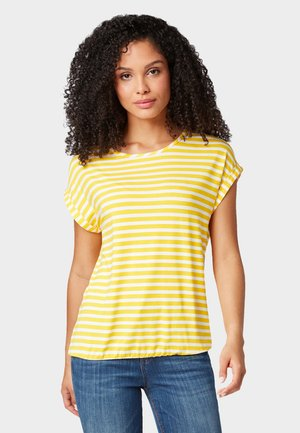 T-shirt imprimé - yellow