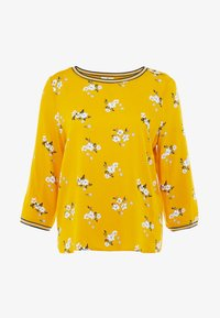 TOM TAILOR - FABRIC PRINT MIX - Bluser - yellow - 4