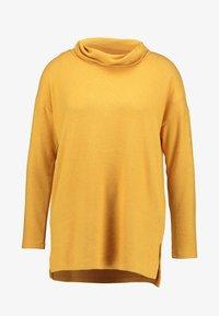 TOM TAILOR - COSY LONGSTYLE - Strikkegenser - merigold yellow melange - 3