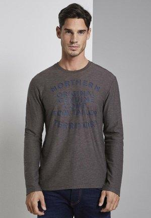 Langarmshirt - dark grey