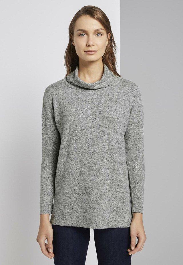 Pitkähihainen paita - silver grey melange