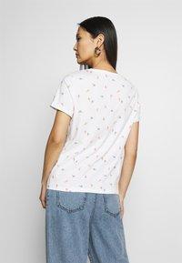 TOM TAILOR - SUMMER FRONT PRINT - T-shirt z nadrukiem - offwhite - 2