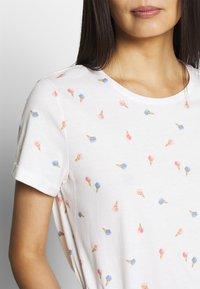 TOM TAILOR - SUMMER FRONT PRINT - T-shirt z nadrukiem - offwhite - 4