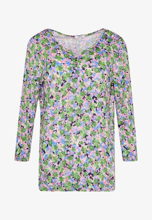 CRINCLE V-NECK - Bluser - multi-coloured