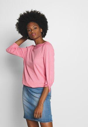 T-shirt à manches longues - pink/white