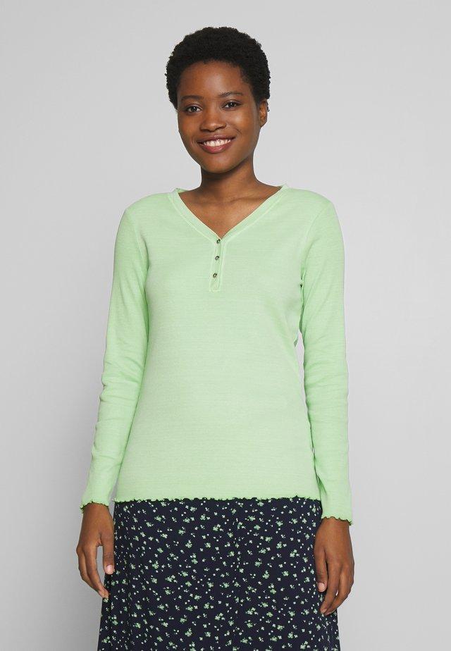 Bluzka z długim rękawem - light pistachio green