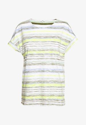 INSIDE STRIPE - Print T-shirt - green/multicolor