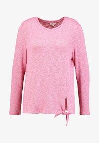 TOM TAILOR - COSY KNOT - Sweter - charming pink melange - 4