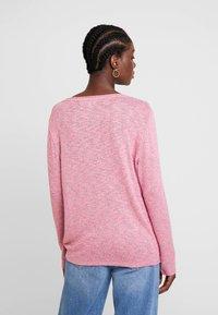 TOM TAILOR - COSY KNOT - Sweter - charming pink melange - 2