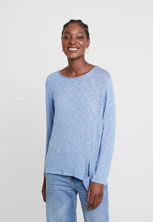 COSY KNOT - Jersey de punto - blue white structure