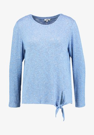 COSY KNOT - Svetr - blue white structure