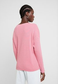 TOM TAILOR - Long sleeved top - pink stripe structure - 2