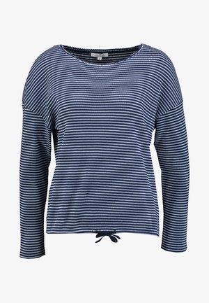 Long sleeved top - navy blue