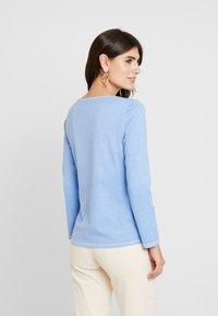 TOM TAILOR - OVERDYE - Bluzka z długim rękawem - sea blue - 2